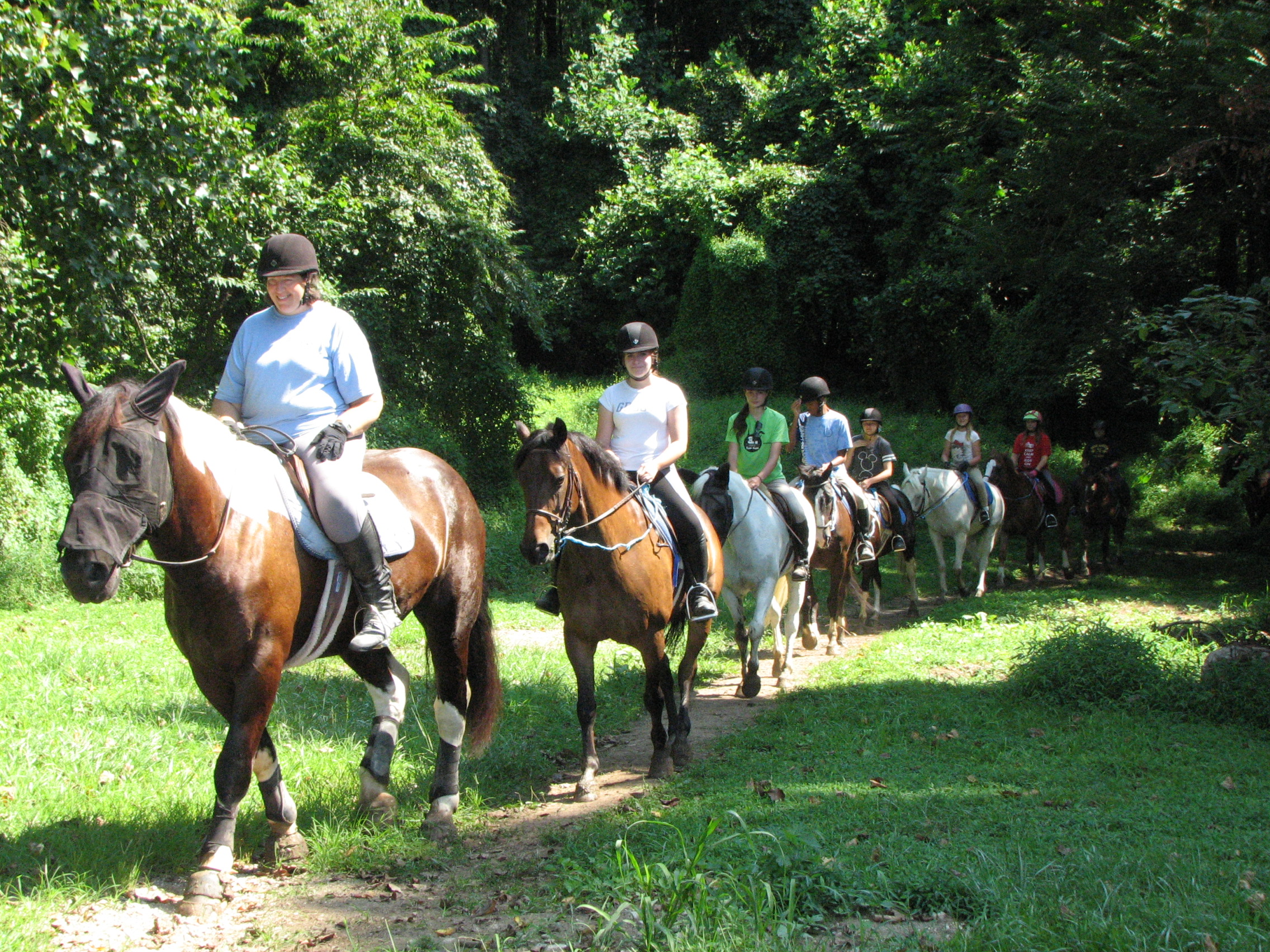 Day Camps at Columbia Horse Center
