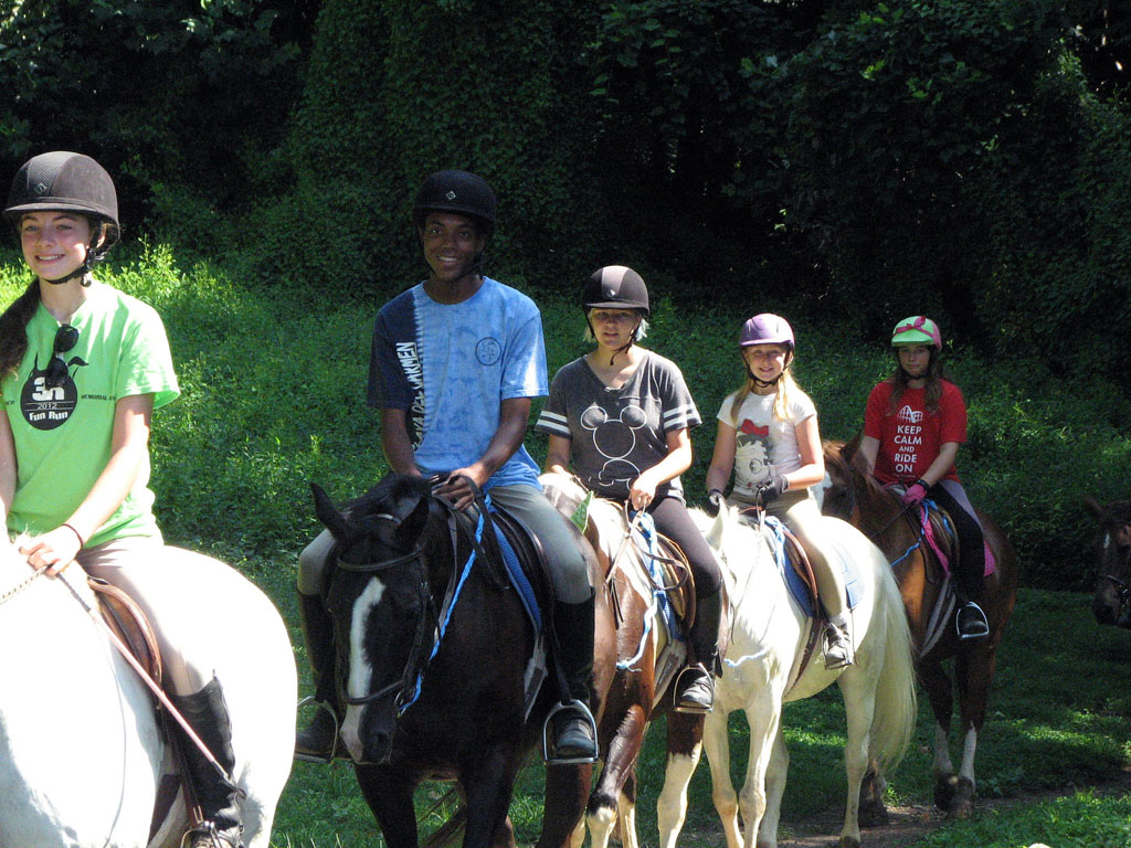 Horsemanship Summer Camp at Columbia Horse Center