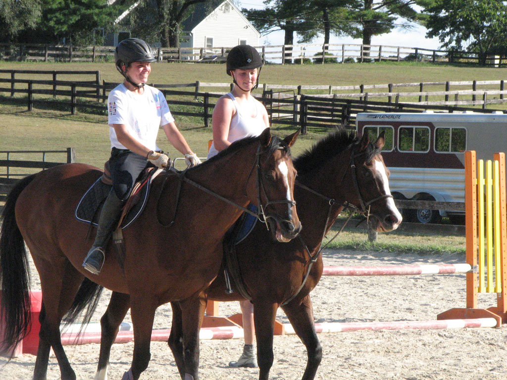 Semi-Private Lessons at Columbia Horse Center