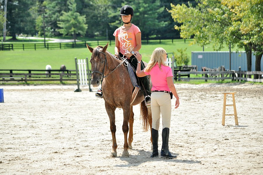 Introductory Lesson at Columbia Horse Center