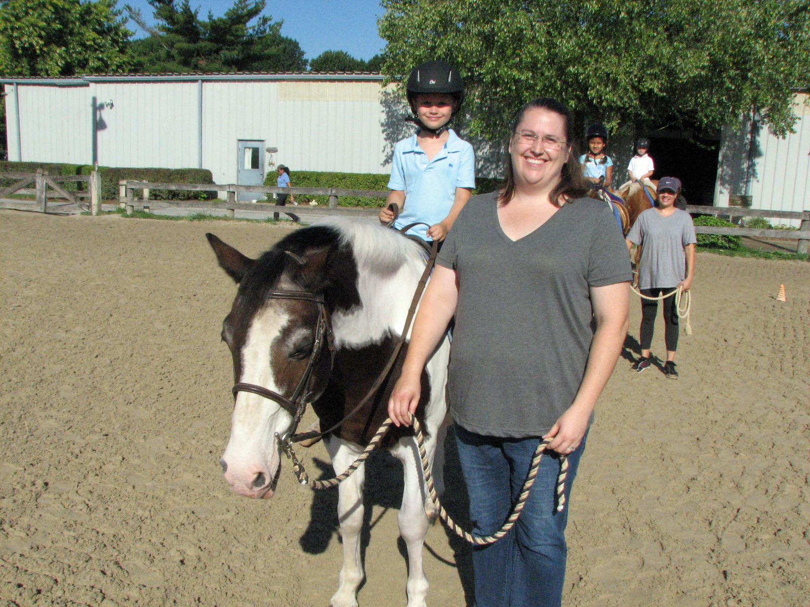 Pony Pal Lessons at Columbia Horse Center