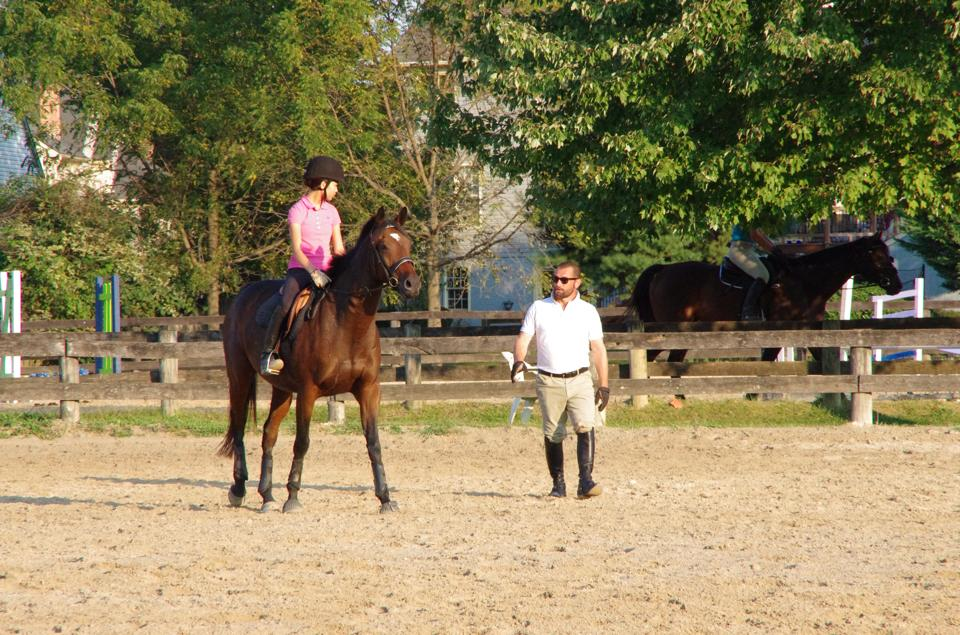 Private Lessons at Columbia Horse Center