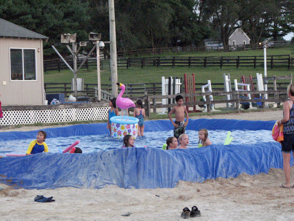 Beach Party at Columbia Horse Center