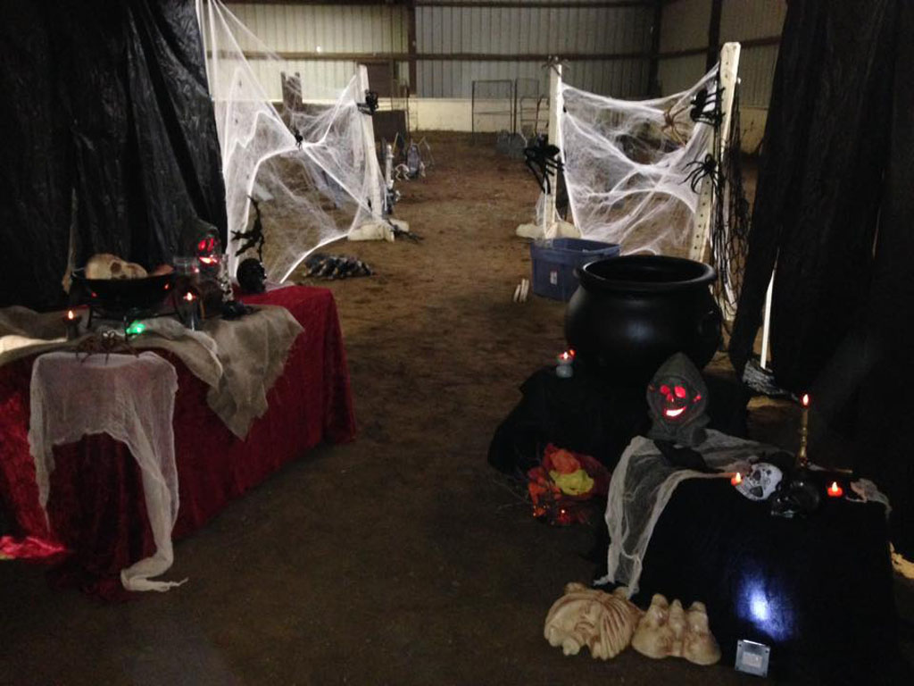 Halloween Party at Columbia Horse Center