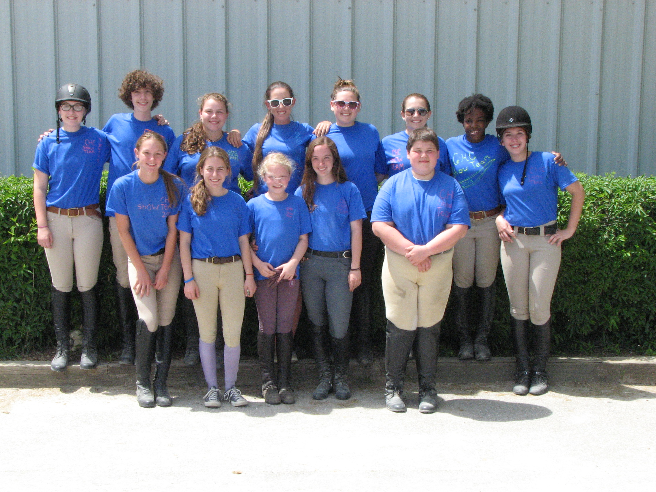 Hunter Jumper Team at Columbia Horse Center
